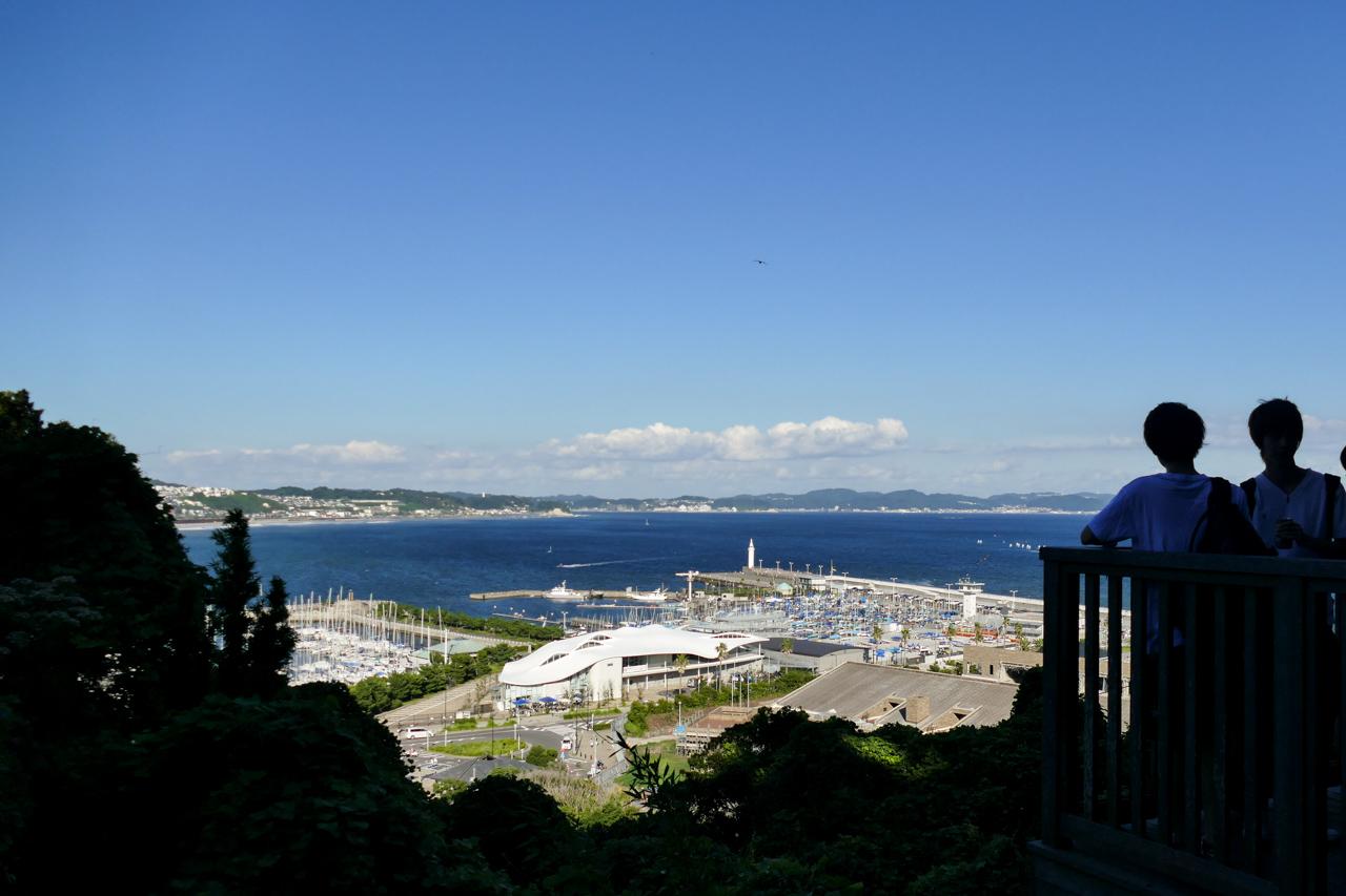 江の島からの風景