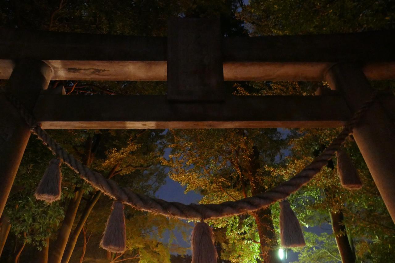 篠原八幡神社の鳥居