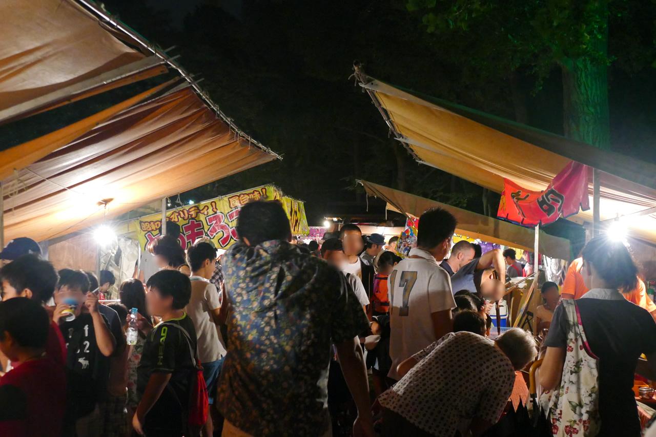 篠原八幡神社の例大祭