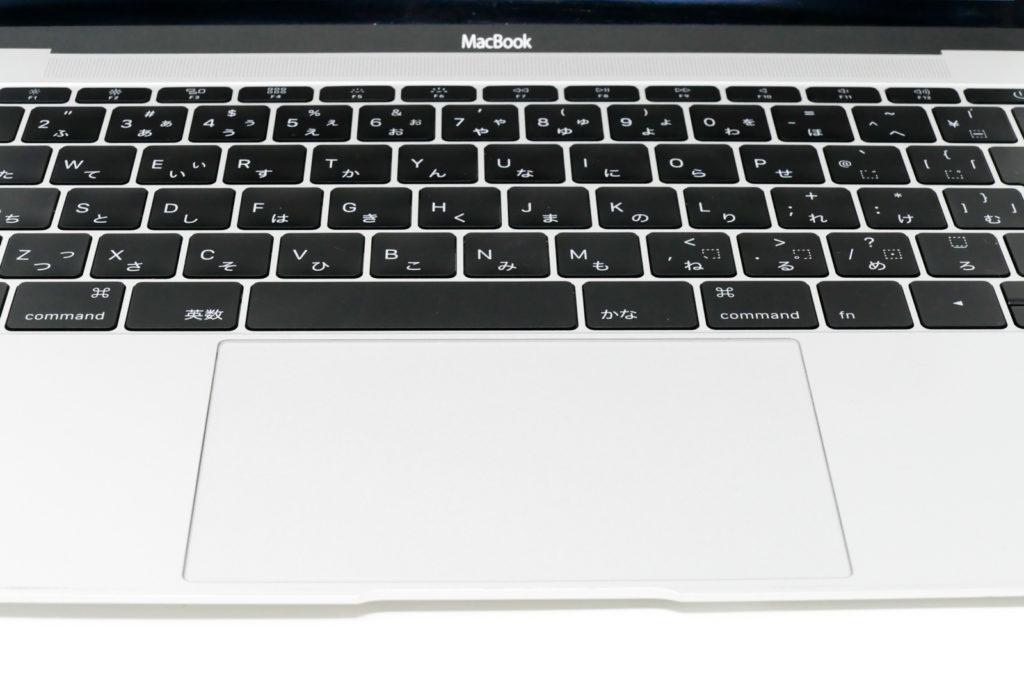 MacBook12インチのキーボード