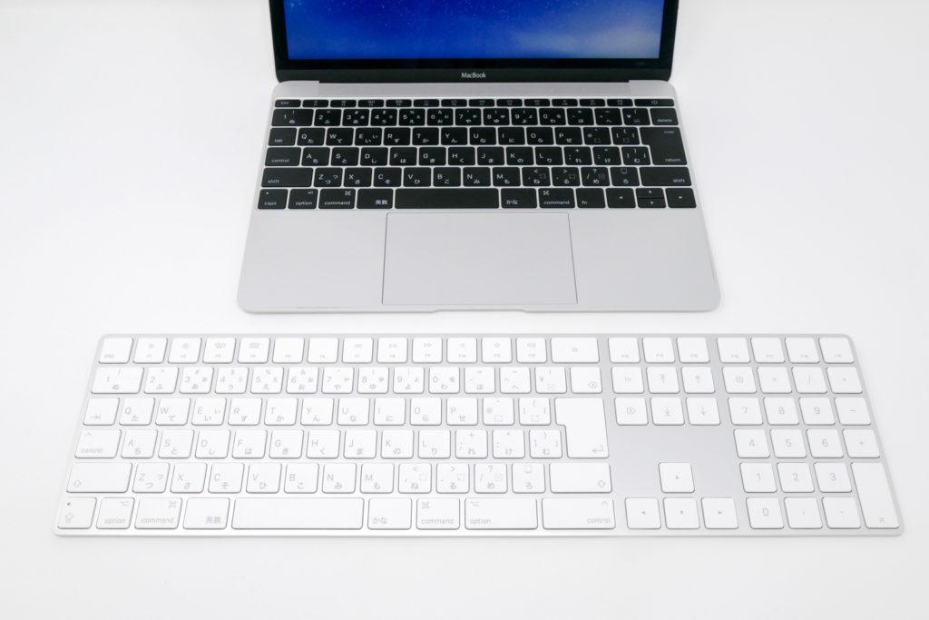 Macbook12インチとMagickeyboard