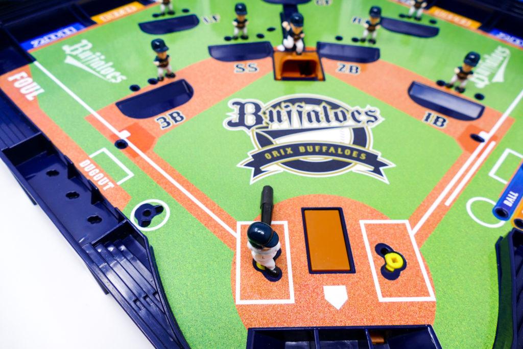 野球盤のバッターボックス