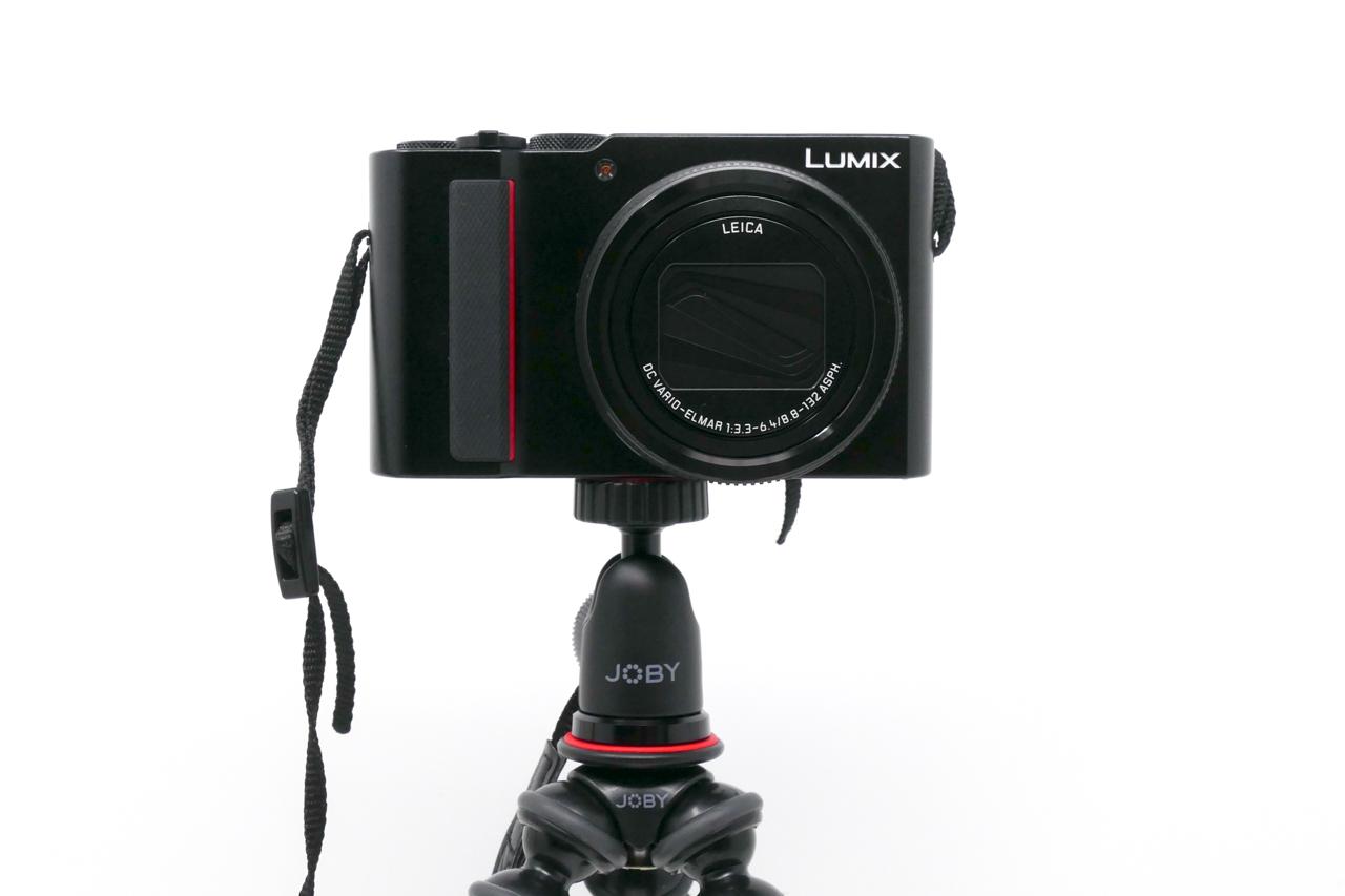 ゴリラポッドとコンパクトカメラ