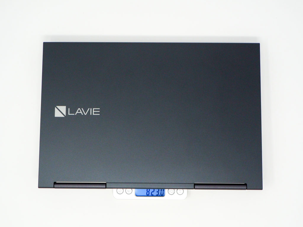 LAVIE Direct HZの重量