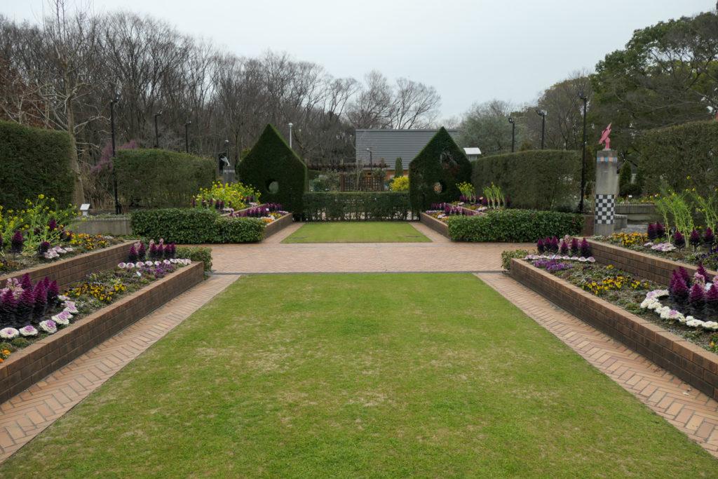 大泉緑地のふれあいの庭