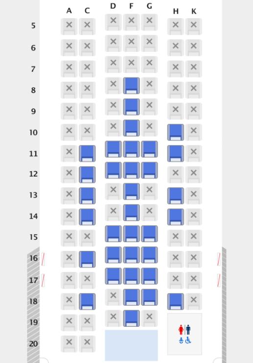スーパーフライヤーズ会員の座席指定